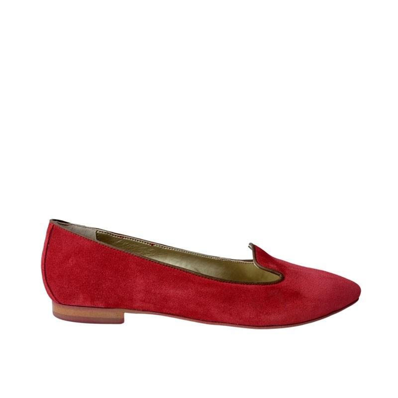 Pantofi dama ascutiti rosii