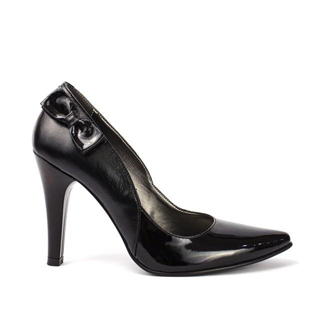 Pantofi dama stiletto cu funda