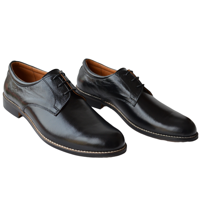 Pantofi barbatesti piele eleganti negri