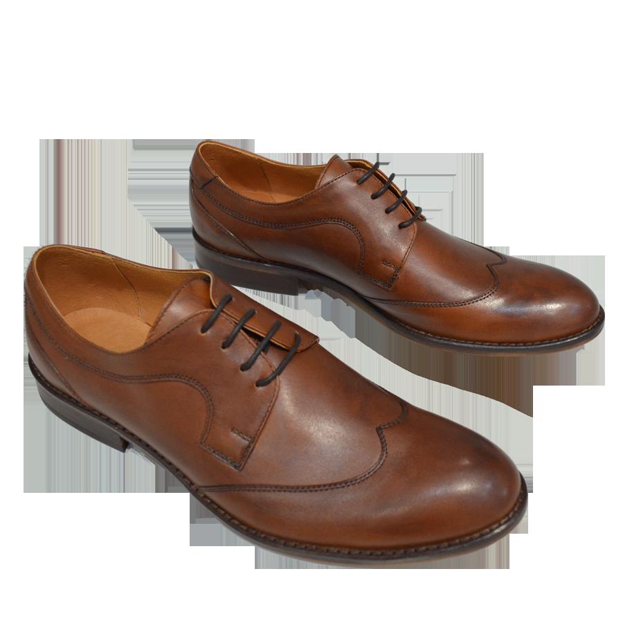 Pantofi eleganti barbatesti piele maro