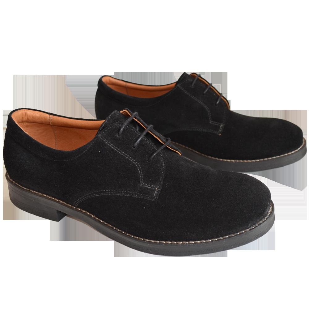 Pantofi barbatesti casual negri