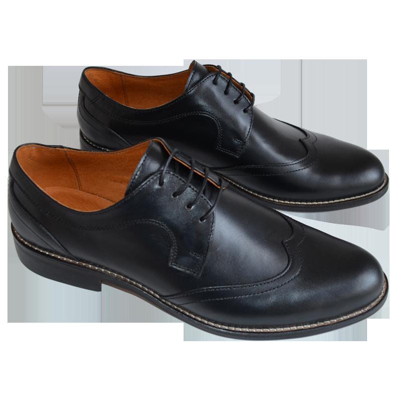 Pantofi barbatesti eleganti negri