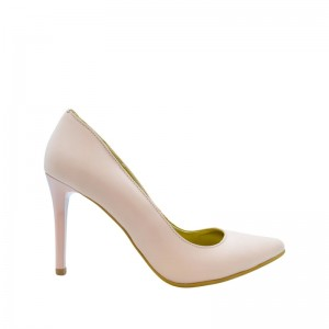 Pantofi dama stiletto nude roz
