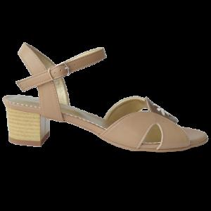 Sandale dama crem